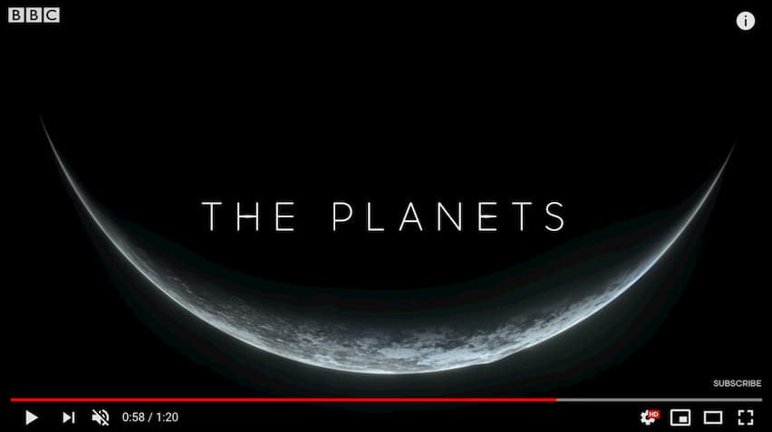 The Planets - Space Documentary by the BBC