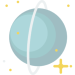 planet uranus icon