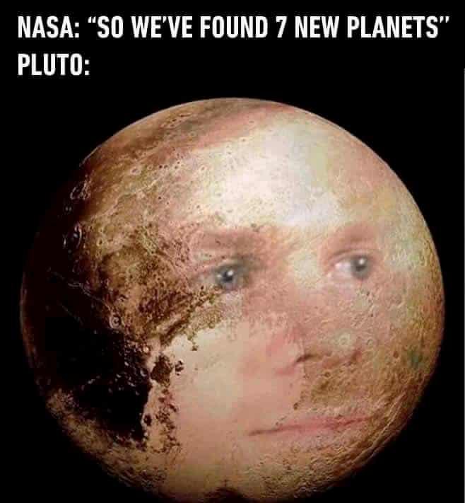 NASA & Pluto meme