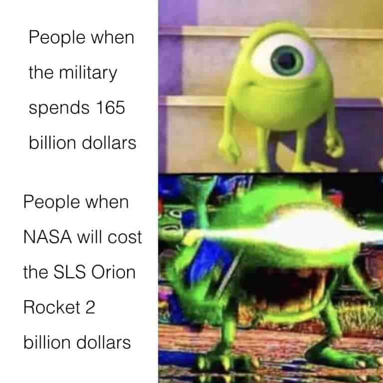 nasa funding meme