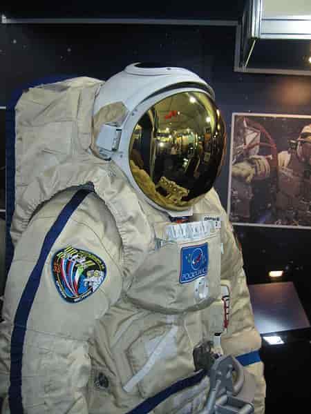 Orlan MKS cosmonaut spacesuit