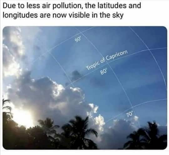air pollution meme