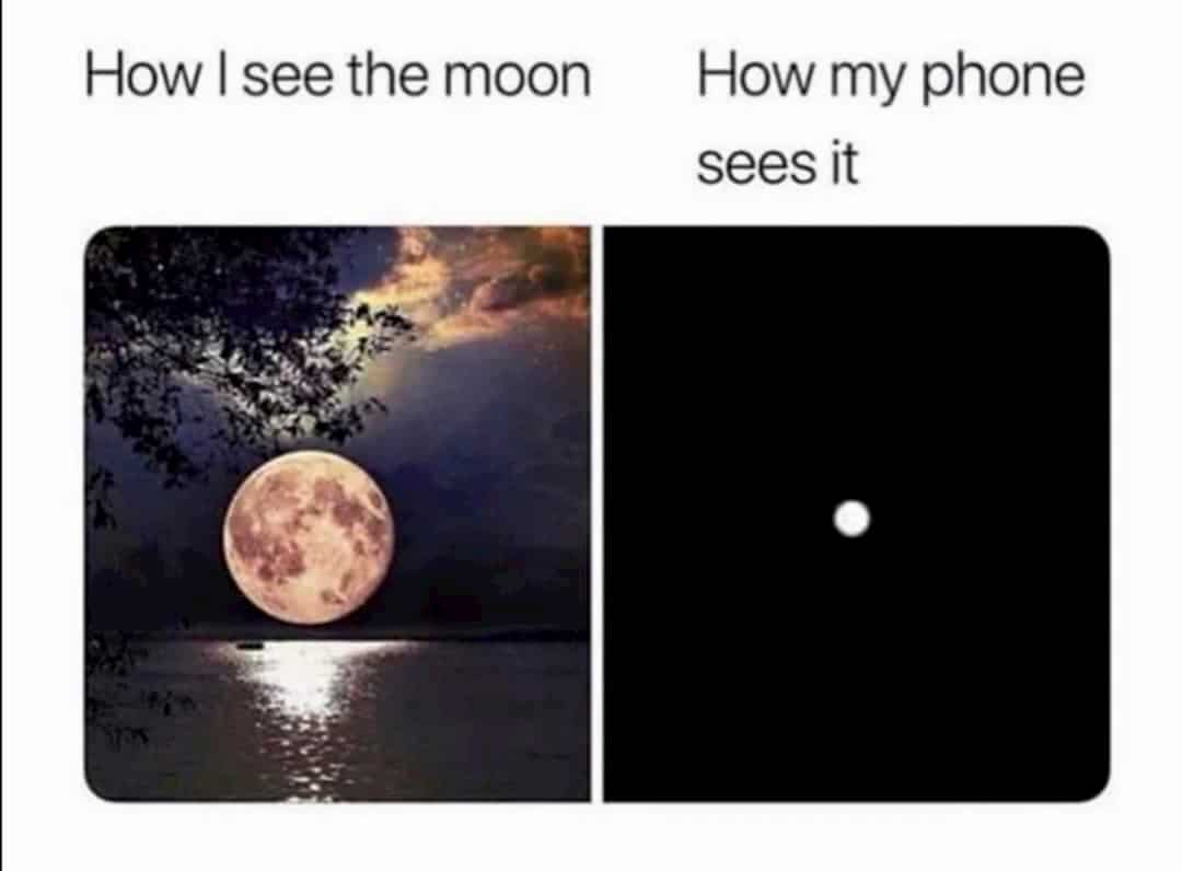 Moon Phone Meme