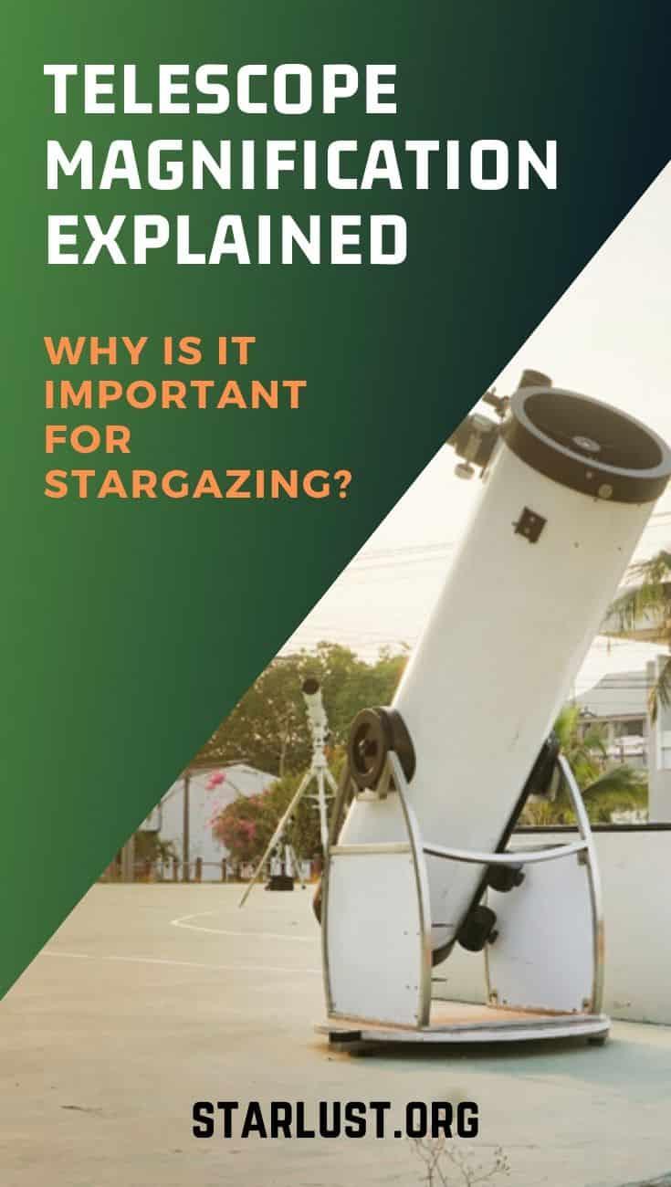 telescope magnification explained