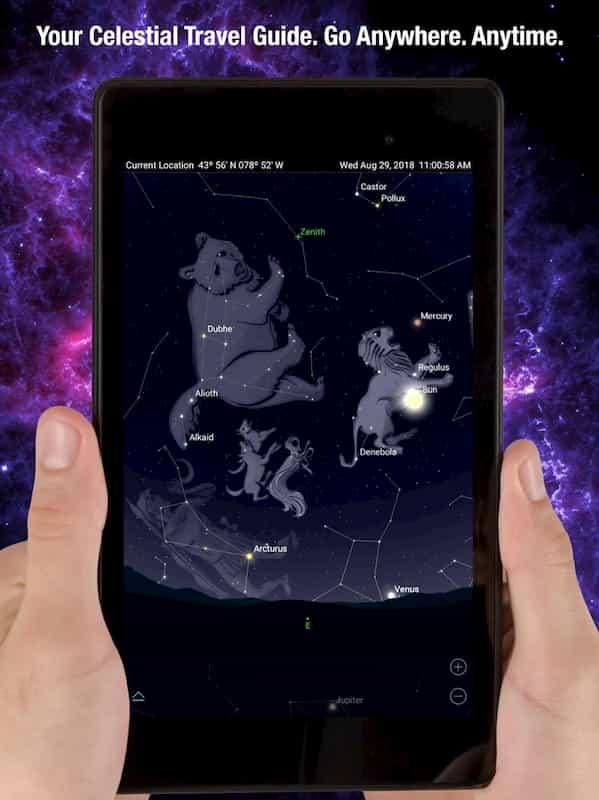 SkySafary astronomy app