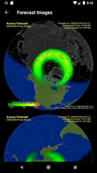My Aurora Forecast