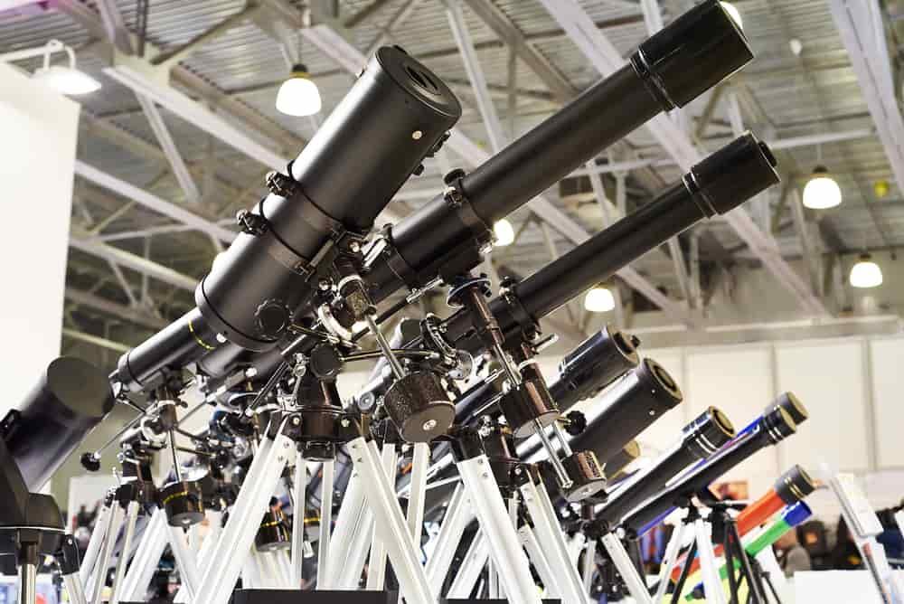 Les différents types de télescopes