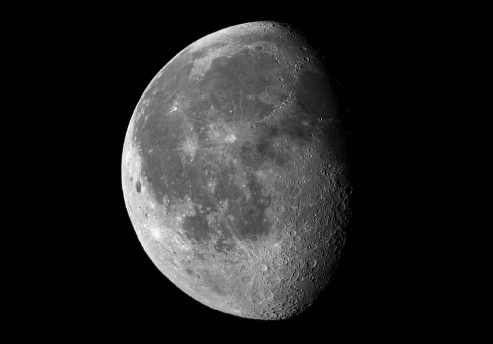 La Lune gibbeuse décroissante
