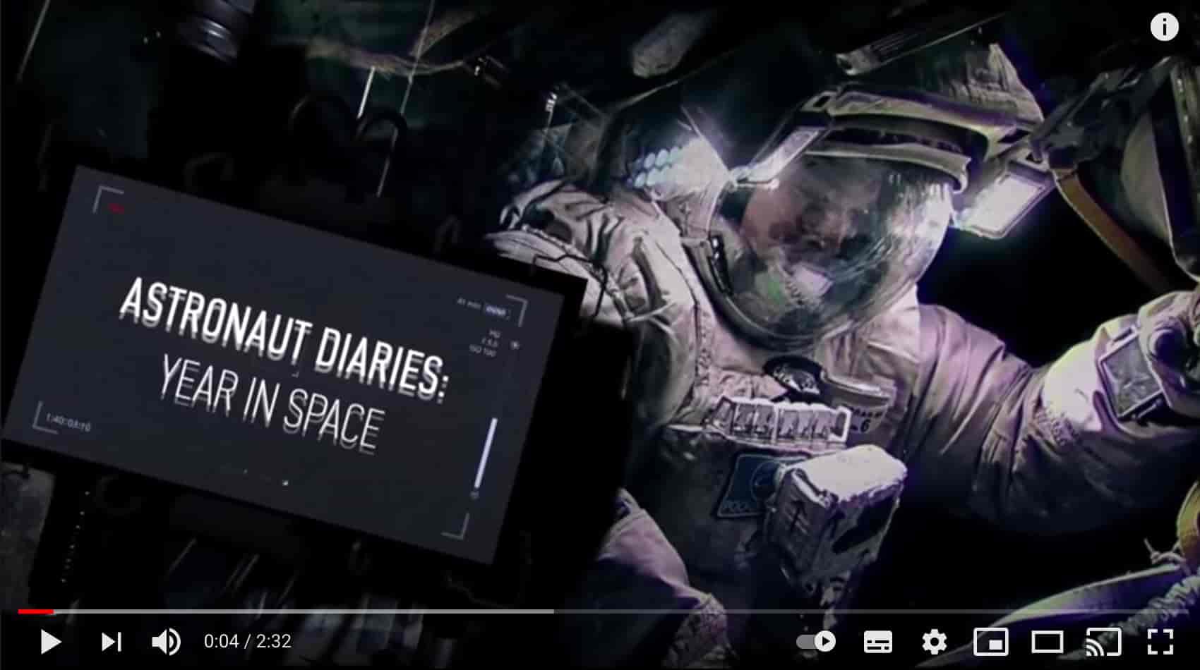 astronaut diaries