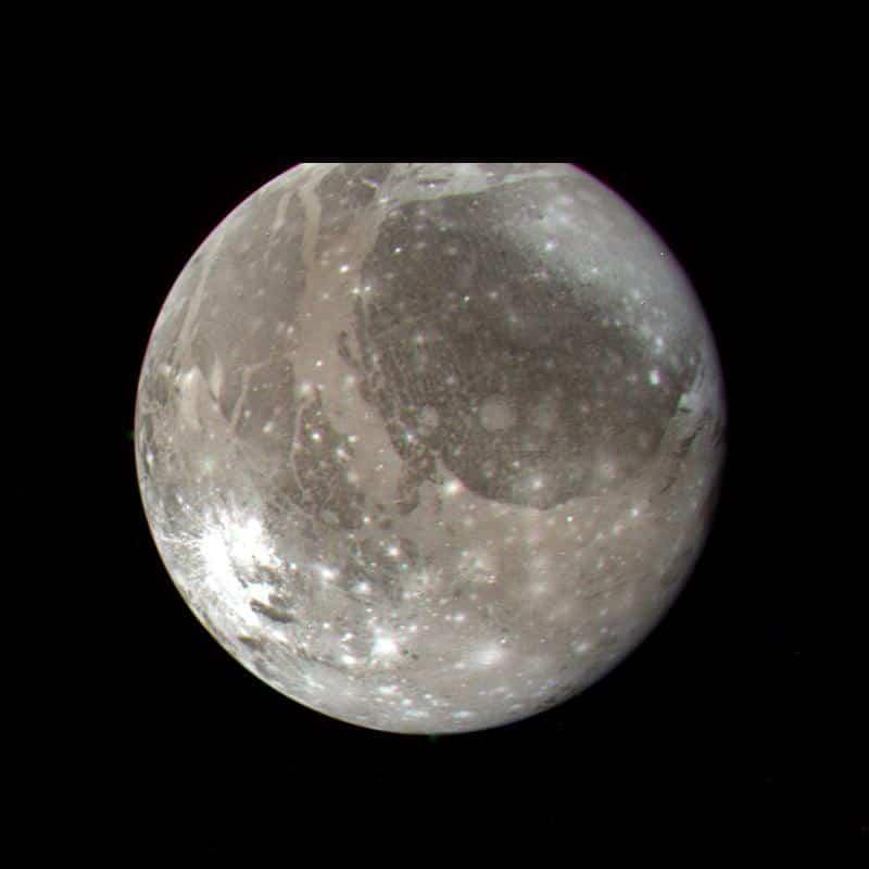ganymede galilean moon