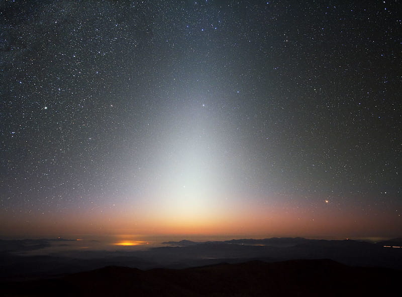 zodiacal light from Chile