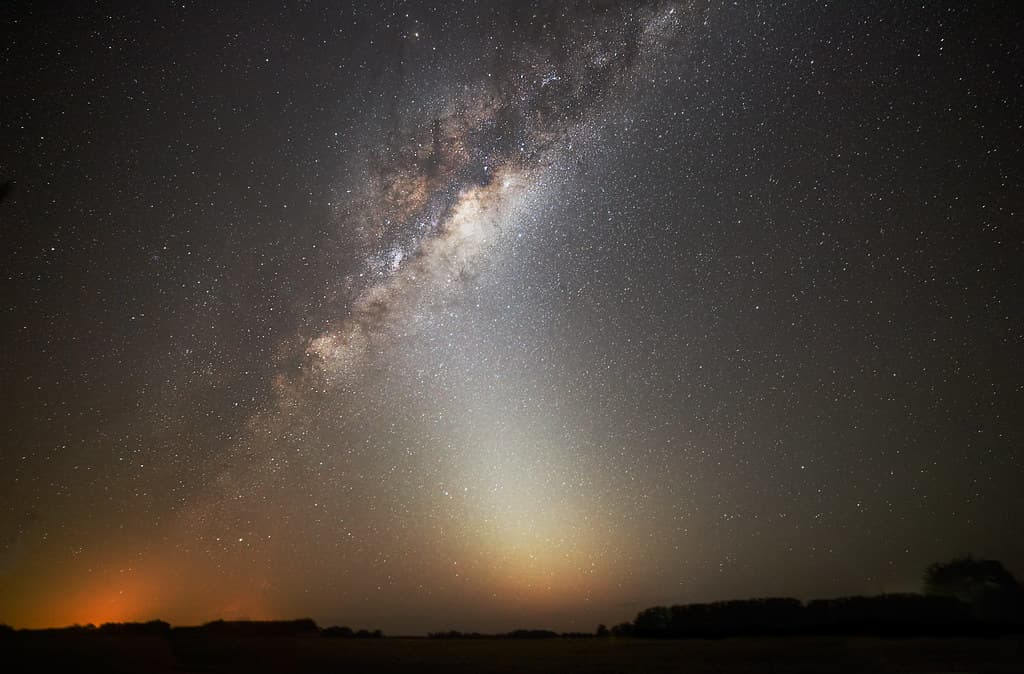 zodiacal light in Argentina