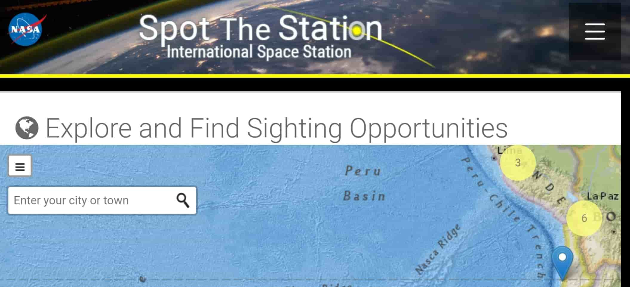 How to spot the ISS