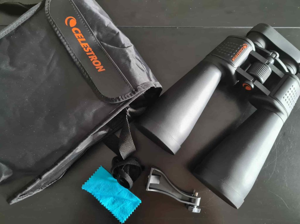 Unboxing The Celestron 15x70 binoculars