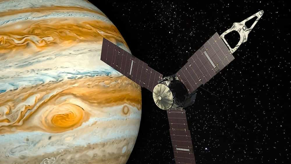 nasa probe taking measurements on other planets