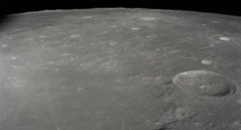 Apollo 12 lunar module landing