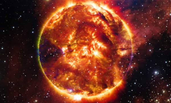 composite image of a star