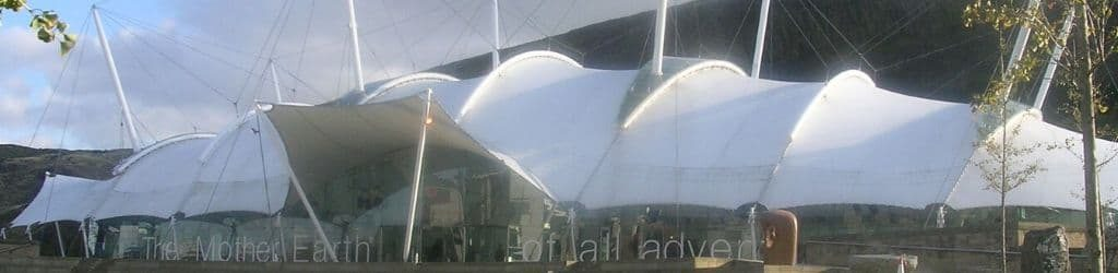 Edinburgh planetarium - Dynamic Earth