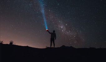 looking up to the stars