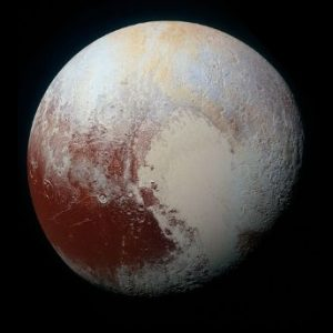 a picture of planet Pluto