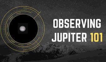 Seeing Jupiter with a telescope