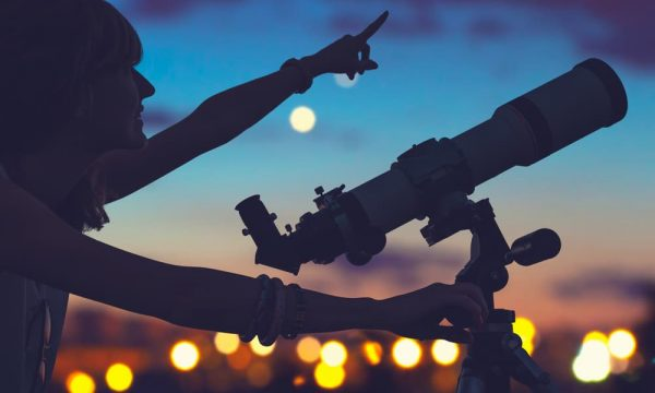 stargazing-with-a-telescope
